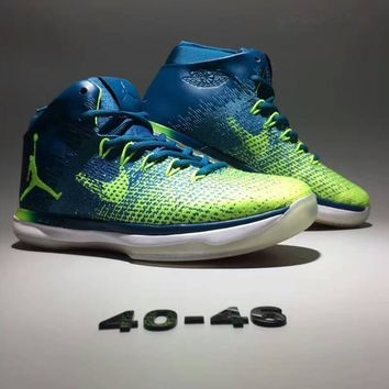 """Nike Air Jordan XXXI"" Men Sport Casual Fashion Multicolor Sneakers Basketball Shoes"