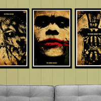 Batman Movie Poster Set by posterexplosion on Etsy