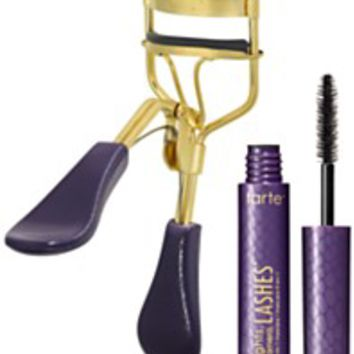 Tarte Picture Perfect Eyelash Curler & Deluxe Lights, Camera, Lashes Mascara | macys.com