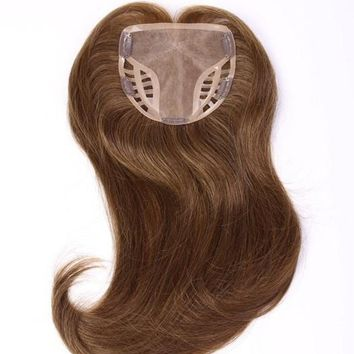 Game Changer | Human Hair Topper (Mono Top) R6/30H CHOCOLATE COPPER  Raquel Welch