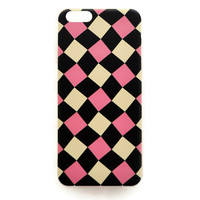 iPhone 6 Case Cute Plaid Pattern iPhone 6 Hard Case Retro Vintage Cover For iPhone 6 Slim Design Case Plaid