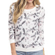 Feather Printed Sweatshirt