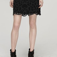 Rag & Bone - Nancy Skirt, Black