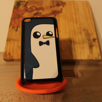 Gunter Adventure time Apple Iphone 4 / 4s case finn jake beemo  cake fionna carto