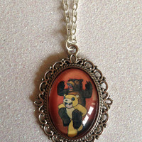 Fall Out Boy Folie a Deux Cameo Necklace