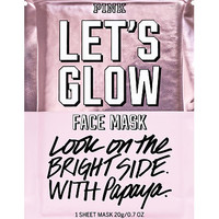 Lets Glow Face Mask - PINK - Victoria's Secret