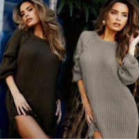 HOT FASHION SWEATER DRESS