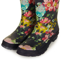 JOULES Floral Print Wellies - New In This Week - New In - Topshop USA