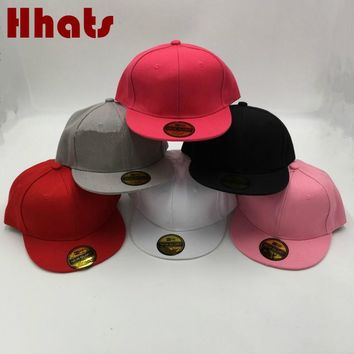 which in shower children's hip hop cap solid adjustable flat brim baseball cap casual outdoor blank golf snapback hat for kids