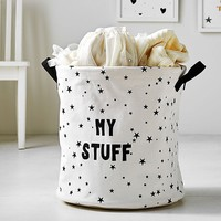 Emily & Meritt Canvas Toy Dump