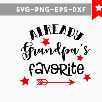 grandpas favorite svg, funny Onesuit svg, baby Onesuit dxf png, grandpa svg svg cuts download cricut designs, silhouette cameo, commercial use