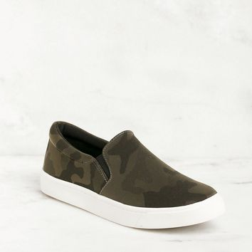 Glen Camo Slip-On Sneakers