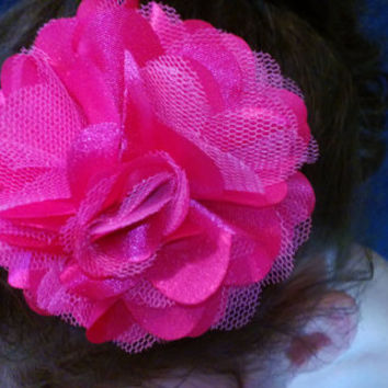 All Sizes Flower Hair Clip, 001