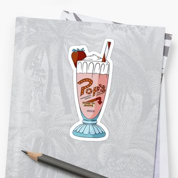'Pop's Milkshake / Riverdale' Sticker by klutterschmidt
