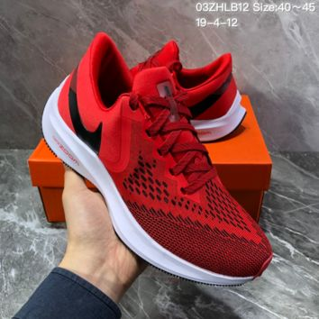HCXX N1400 Nike Air Zoom Vomero W6 Sports Running Shoes Red Black