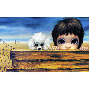 Big Eyes | Vintage Print Photo | 1963 BEACHHEAD 63 | Margaret Keane | Walter Keane