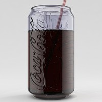 Coke Can Glass - Set of 6