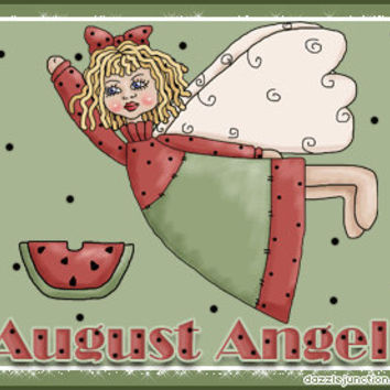 August Angel Reading, Monthly Angel Guidance, Beach Angel Tarot