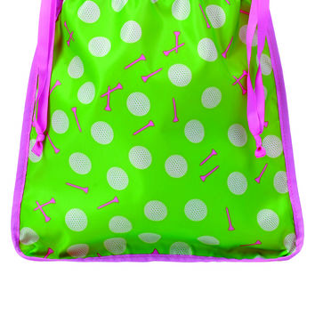 Toss Tee Time Drawstring Shoe Bag