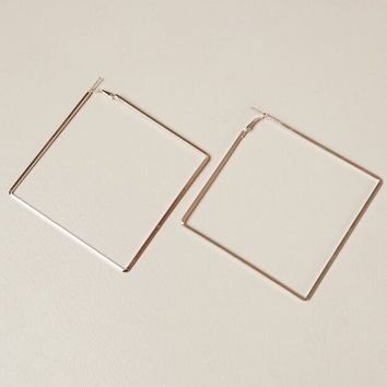 Solitude earrings in rose gold Produced By SHOWPO