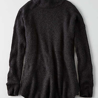 AEO Ahh-mazingly Soft Mock Neck Sweater, Charcoal