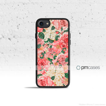 Carnations Floral Case Cover for Apple iPhone 7 6s 6 SE 5s 5 5c 4s 4 Plus & iPod Touch