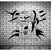 Broly Dragon Ball Z Cartoon Anime Manga Decor Wall Mural Vinyl Art Sticker Unique Gift M435
