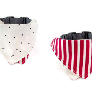 Boardwalk / Kettle Corn Dog Bandana and Collar