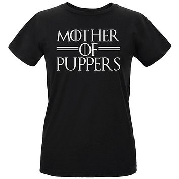 Mother of Puppers Womens Organic T Shirt