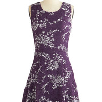 ModCloth Mid-length Sleeveless A-line Touch of Tracery Dress
