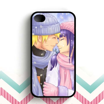 Cute Naruto Couple Kiss  iPhone 4 and 4s case