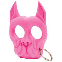 PS PIT BULL PROTECTION KEYCHAIN PINK