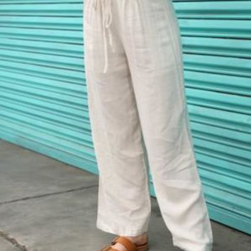 Laced Waist Pants