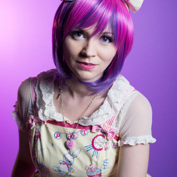 Sora - Purple/Pink Wig