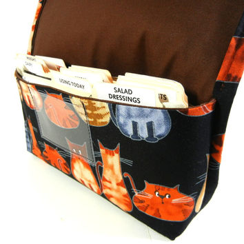 Coupon Organizer Cat Fabric