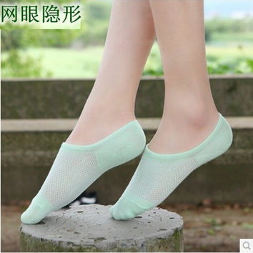 2 pairs of socks 2015 New Arrival Girls Summer Fashion Hot Sale Socks Candy Color Plain Cute Korean Style Casualsolid Natural Color Sock Slippers = 1958748100