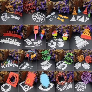 Creative Metal Cutting Dies Stencil DIY Scrapbooking Embossing Album Paper Card Craft