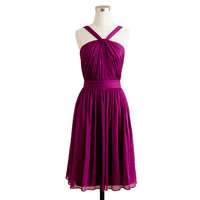 Sinclair dress in silk chiffon - bridesmaid & party dresses - Women's weddings & parties - J.Crew
