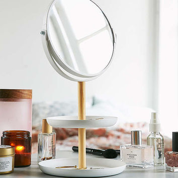 Yamazaki Tosca Tiered Catch-All Dish With Mirror | Urban Outfitters