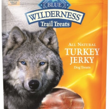 Blue Buffalo Wilderness Turkey Jerky Dog Treats 3.25oz