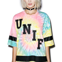UNIF Don't Play Tee Tie-Dye
