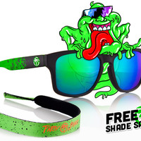 Cruiser Custom: Slimer Sunglasses