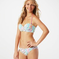 AE Printed Corset Underwire Top | American Eagle Outfitters