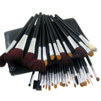34 Pcs Makeup Brushes Professional Cosmetic Eye Tool