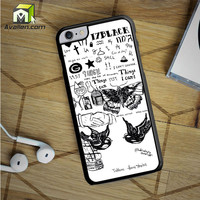 One Direction Harry Styles Tattoos iPhone 6S Plus Case by Avallen