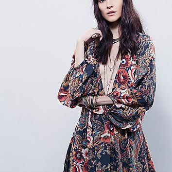 Free People Womens High Plains Printed Dress