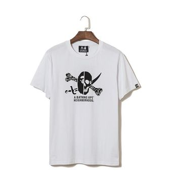 Couple Pirate Summer Cotton Short Sleeve T-shirts [1276630138916]