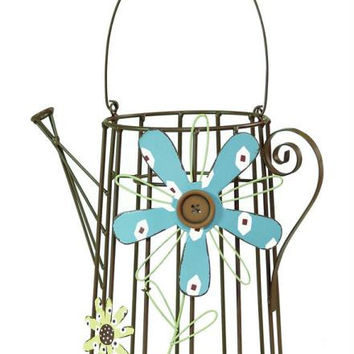 2 Watering Cans - Decorative Only