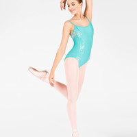 """Free Shipping - Adult """"Diamina"""" Lace Camisole Leotard by WEAR MOI"""