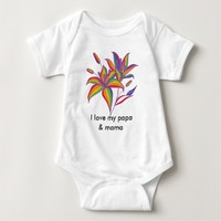 Gay Pride America Infant Creeper